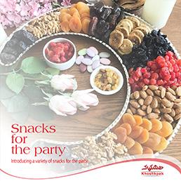 معرفی انواع تنقلات برای مهمانی