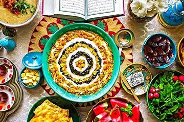 غذای مقوی برای روزه دار